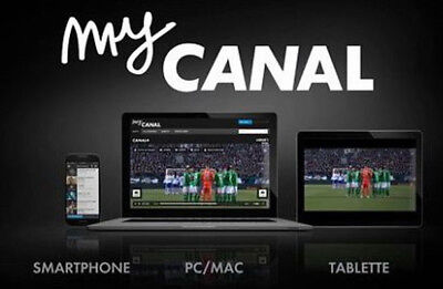 compte mycanal canal et bein
