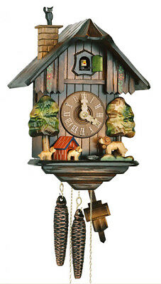 Herr  615/2 Cuckoo Clock.. New!! German/black Forest.. Animated Movement