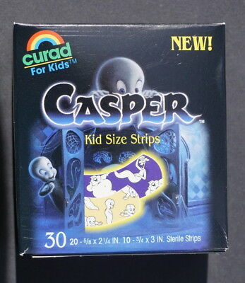 Casper the Friendly Ghost box of Curad bandages  1995