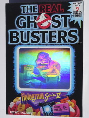 The Real Ghostbusters Hologram Series II box  1989