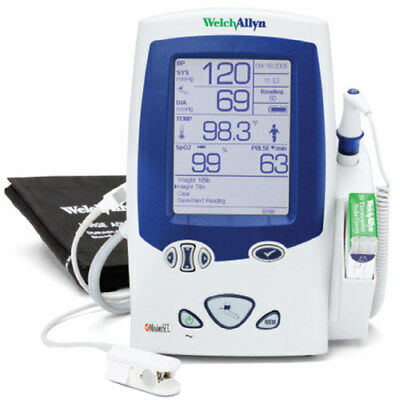 Welch Allyn LXi Spot Vital Signs w/ BP and SureTemp Plus Thermometer DEMO