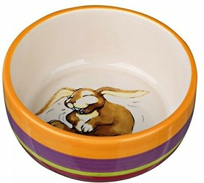 Trixie 60803 Ceramic Dog Bowl ? Rabbit