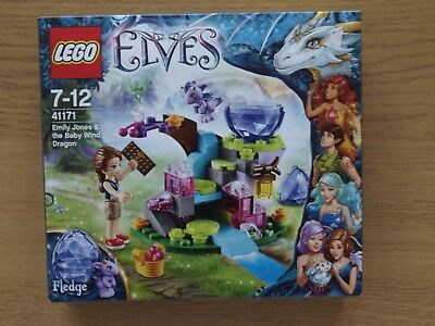 LEGO ELVES 41171 Emily Jones & The Baby Wind Dragon NEW Sealed ...