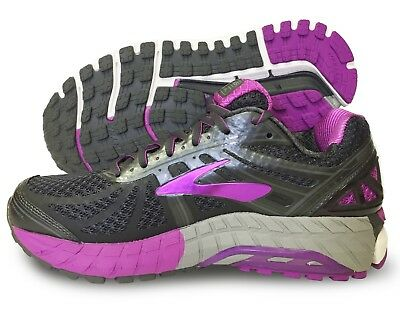 94af7ac575d80 Brooks Ariel 16 Womens Running Shoe Anthracite Purple Cactus Multiple sizes  NIB