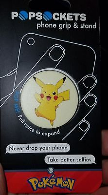 Pokemon Pikachu Popsockets Cell Phone Grip And Stand