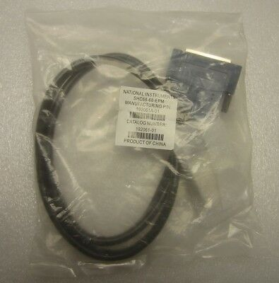 *new* National Instruments Shielded Cable 68 D-Type Vhdci Offset 1M Shc68-68-Epm