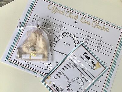 Personalise Tooth Fairy Set, Fairy Dust