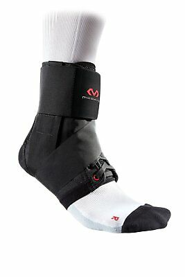 Mc David Ankle Support Brace with Strap for Adults - Lightweight - Black or - to