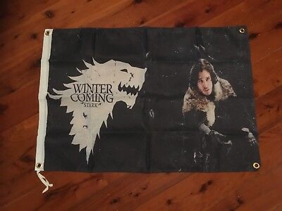 game of thrones to series  signage poster  man cave flag wall hanging pool room