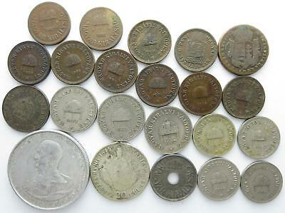 No reserve! Hungary older coin lot, Filler coins and more, 1850's to 1940's