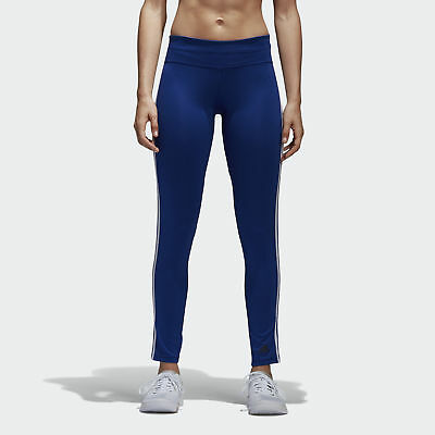 adidas D2M Three Stripes Long Tights Women's