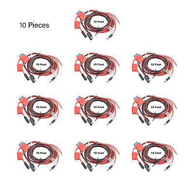 10X HKN4137A OEM Power Cable UK for Motorola XPR5550 CDM1250 CM200D Mobile Radio
