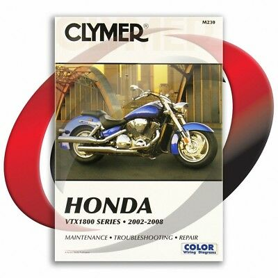 2004-2008 Honda VTX1800N Repair Manual Clymer M230 Service Shop Garage