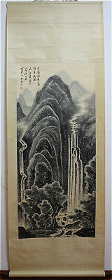 Excellent Chinese 100% Hand Painting & Scroll Landscape By Li Keran 李可染 ZGLTWAN8