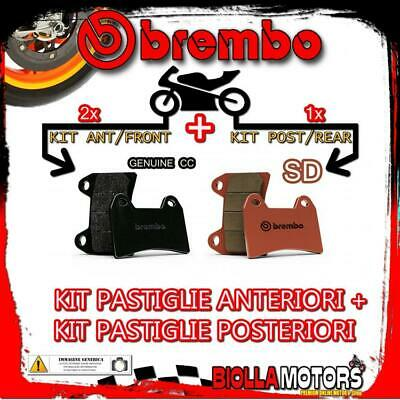 Brpads-20435 Kit Pastiglie Freno Brembo Indian Scout 2017- 1200Cc [Genuine+Sd] A