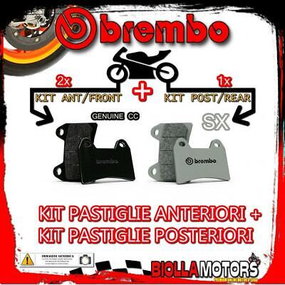 Brpads-11668 Kit Pastiglie Freno Brembo Indian Scout 2017- 1200Cc [Genuine+Sx] A
