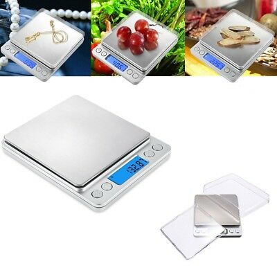 LCD Digital 0.01-500g Electronic Balance Scale Mini Kitchen Food Weight Scales