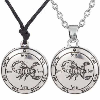 The Fifth Pentacle of Mars Key of Solomon Men Pendant Goth Womens Necklace 2018