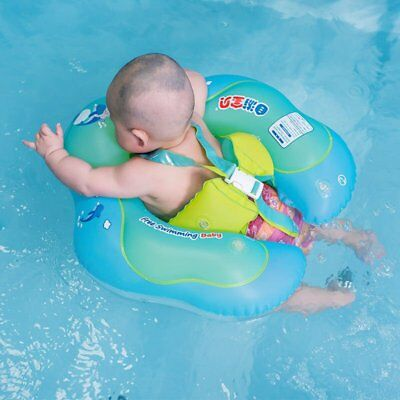Hot Baby Float Swimming Ring Inflatable Swim Trainer Safety Aid Pool Water Toy