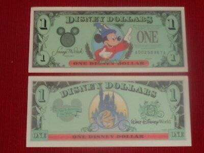 1997 $1 Mickey Mouse - A Series - MINT