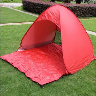 1-3 Person Portable Backpacking Tent For Outdoor Camping Hiking Travel Red