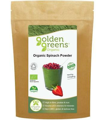 Golden Greens® Organic Spinach Powder 250g - Nourish Your Body, Naturally