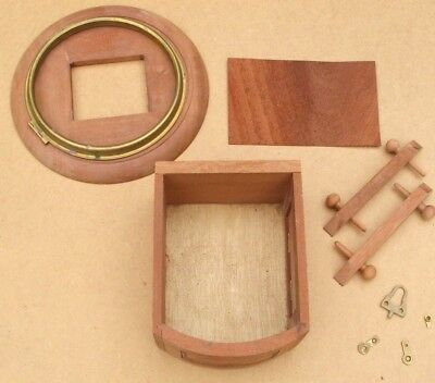 ref:13265       New 8 inch fusee dial clock case kit.