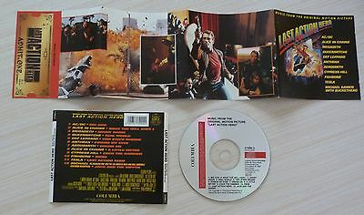 CD album BOF LAST ACTION HERO 12 TITRES DONT BIG GUN AC/DC