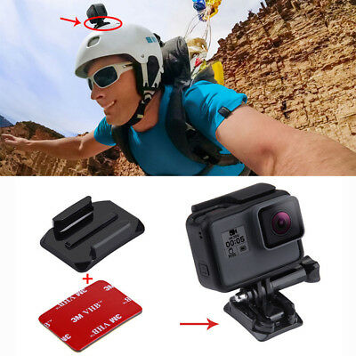 Flat+Curved Adhesive Sticky Mount For Gopro Hero5 /4 /3+ /3 /2 /1 Black Session