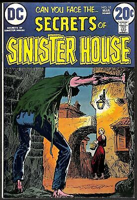 Secrets of Sinister House #10 VFN+