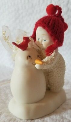 Department 56 Snowbabies Wear this Snowman Hanging Ornament