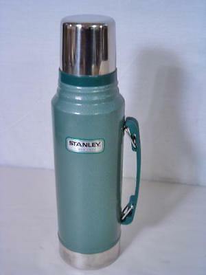 STANLEY Insulated Thermos Bottle 1.1 Quart Stainless Steel Portable Travel Flask