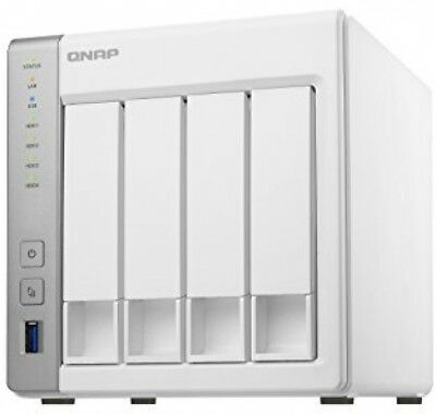 QNAP TS-431P16TB 4 Bay NAS Solution   Installed with 4 x 4TB Seagate IronWolf
