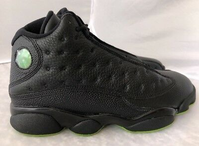 c5a432e269fe55 Mens Air Jordan Retro 13 XIII Altitude Green Black 414571-042 Size 10.5