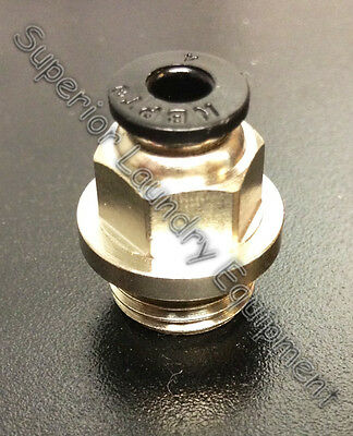 Wascomat Nipple 1/4 x 4MM For Burkert Valve Replacement For Part # 868812 New