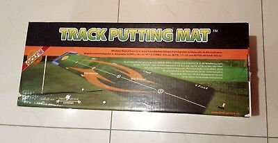Track Putting Mat, ORIGINAL VERPACKT !!!, Putt-Training, Golf-Trainingsmatte
