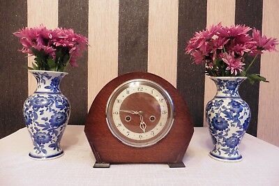 Fine Example Of A Vintage Enfield Striking Mantle Clock (Working).