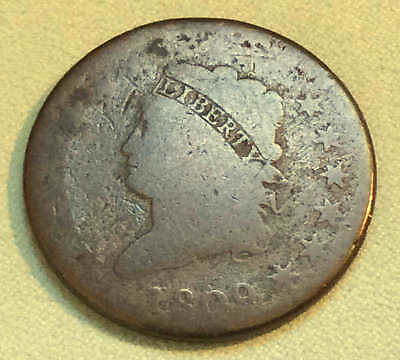 1809 Classic Large Cent The KEY Very Nice