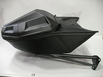 Snowmobile Polaris Sport Rack Bag oem Lock & Ride Rear carrying case 2881464