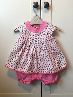 BABY GIRLS DESIGNER Kenzo all in one Dress with shorts 6 Months ... 09e12be9d3d2