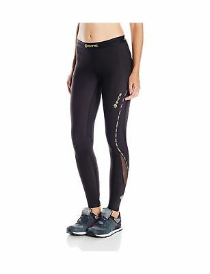 Skins Women's DNAmic Compression Long Tights Black Large