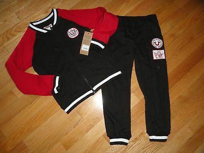 True Religion Boys Track Suit Pants Sweatshirt 2 Piece Varsity Set Outfit 5 NWT