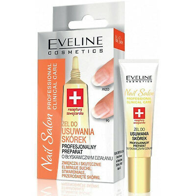 Eveline Instant CUTICLE REMOVER Gel Nails Hybrid Manicure with Avocado Oil 10ml