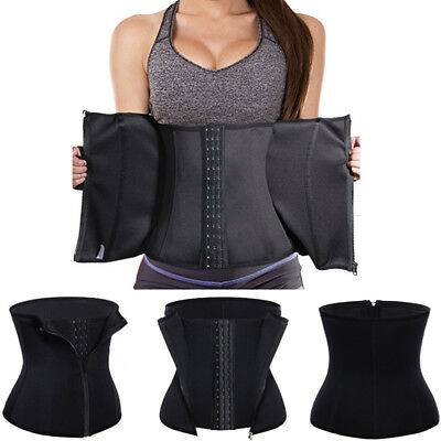 Double Control Waist Trainer Corset Body Shaper Tummy Fat Burning for Hourglass