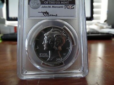 2017 $25 PALLADIUM EAGLE PCGS MS70  FIRST DAY ISSUE MERCANTI  signed. Rare