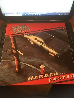 April Wine Harder...Faster LP ST-12013, 1979 Capitol Records