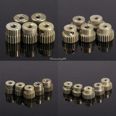 New 64DP 3.175mm Pinion Motor Gear Set for 1/10 RC Car Brushed Brushless C1MY