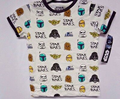 Star Wars New ( Caricatures on Both Sides) Kids T-shirt