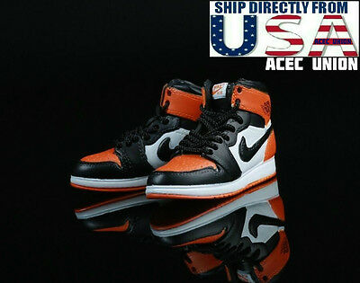 1/6 Men Sneakers Nike Air Style Shoes For Hot Toys Phicen Male Figure USA