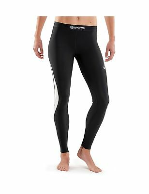 SKINS Women's Dnamic Thermal Compression Long Tights black/Cloud X-Small